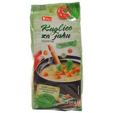 K Plus Kuglice za juhu povrtne 200 g