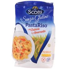 Scotti Fusilli Tjestenina od rižinog brašna, kvinoje i amaranta bez glutena 250 g