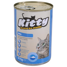 Kitty Hrana za mačke riba 415 g