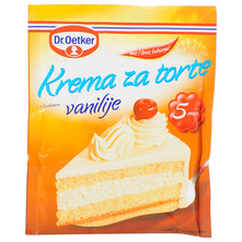 Dr.Oetker Krema za torte okus vanilija 45 g