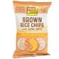 Rice Up! Čips od smeđe riže s prosom i sjemenkama suncokreta 60 g