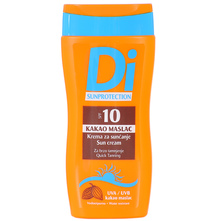 Di Sun SPF 10 Kakao maslac krema za sunčanje 200 ml