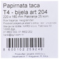 Papirnate tacne 220x160 mm 25/1