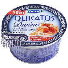 Dukatos Divine grčki tip jogurta toffee-komadići karamele 150 g
