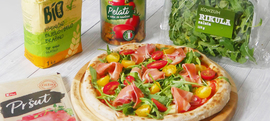 Domaća pizza kao iz krušne peći