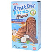 Breakfast Biscuits Choco coconut & choco 160 g
