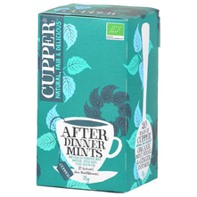 Cupper After Dinner Mints Čaj menta,metvica i đumbir 38 g
