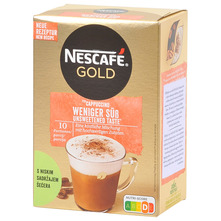 Nescafe Gold Cappucino s niskim sadržajem šećera 125 g