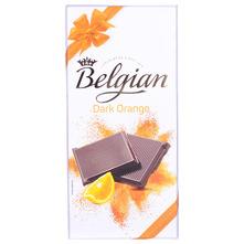Belgian Čokolada dark orange 100 g