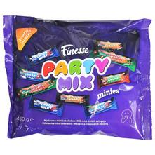 Finesse Party mix Mješavina mini čokoladica 450 g