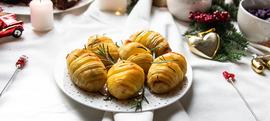 Hasselback krumpir s ružmarinom