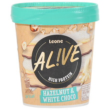 Alive Sladoled hazelnut & white choco 480 ml
