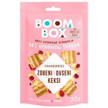 Boom Box Zobeni keksi s brusnicom 50 g