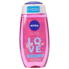 Nivea Love Fun Times Gel za tuširanje pink grapefruit scent 250 ml