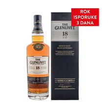 The Glenlivet 18 YO Single Malt Whisky 0,7 l