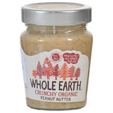 Whole Earth Maslac od kikirikija hrskavi eko 227 g