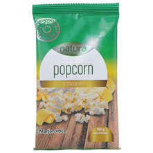 Natura Popcorn s maslacem 100 g