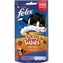 Felix Play Tubes Poslastica za mačke piletina i jetrica 50 g