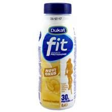 Dukat Fit mliječni napitak bogat proteinima s okusom banane 0,5 l