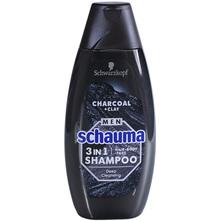 Schauma Men Šampon 3in1 charcoal+clay 400 ml