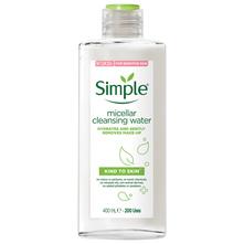 Simple Kind To Skin Micelarna voda za čišćenje lica 400 ml