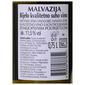 Terra Vinea Malvazija Kvalitetno vino 0,75 l