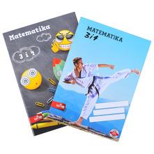 Bilježnica Matematika 3 i 4 razni motivi