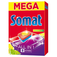 Somat All In 1 Deterdžent lemon&lime 80 tableta