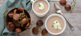 Krem juha od kestena