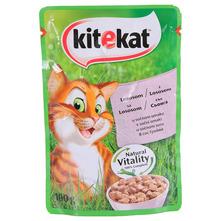 Kitekat Hrana za mačke losos u sočnom umaku 100 g
