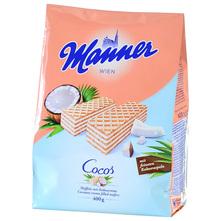 Manner Vafli kokos 400 g