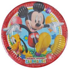 Disney Mickey Papirnati tanjuri 20 cm 8/1