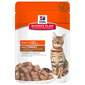 Hill's Adult Chunks&Gravy Hrana za mačke puretina 85 g
