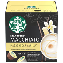 Starbucks Madagascar Vanilla Macchiato by Nescafe Dolce Gusto kava, 12 kapsula/6 napitaka, 132 g