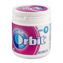 Orbit bubblemint bočica žvakaća guma 84 g
