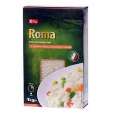 K Plus Roma Riža bijela, dugo zrno 1 kg