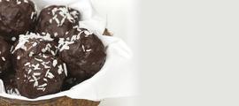 Kuglice od čokolade i kokosa