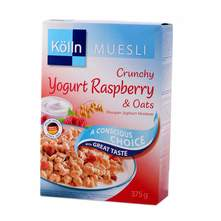 Kolln hrskavi jogurt i malina musli 375 g