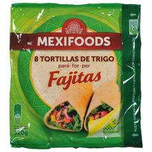 Mexifoods Tortilla 8/1 320 g