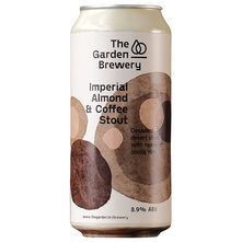 The Garden Brewery Imperial Almond & Coffee Stout Pivo 440 ml