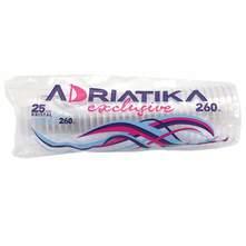 Adriatika Exclusive Plastične čaše 260 ml 25/1