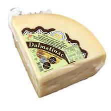 Paška sirana Dalmatinac Tvrdi sir od kravljeg i ovčjeg mlijeka 1/4