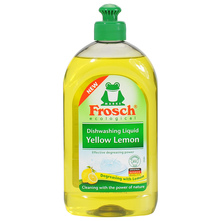 Frosch Deterdžent za ručno pranje posuđa limun 500 ml