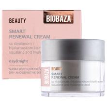 Biobaza Beauty Smart Renewal Krema sa skvalanom i hijaluronskom kiselinom 50 ml