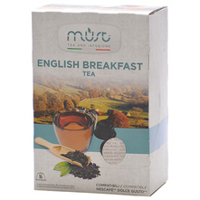 Must English Breakfast Crni čaj 40 g (16 kapsula)