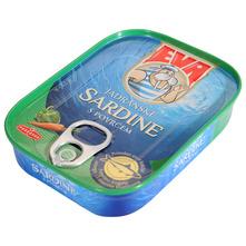 Eva Jadranske sardine s povrćem 58 g