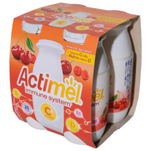 Actimel Immune system Jogurtni napitak trešnja-acerola 4x100 g