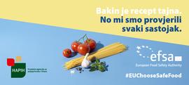 Podržavamo edukativnu kampanju 'EU bira sigurnu hranu'