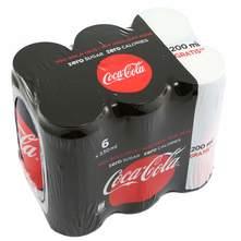 Coca Cola No sugar 6x330 ml