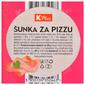 K Plus Šunka za pizzu narezana